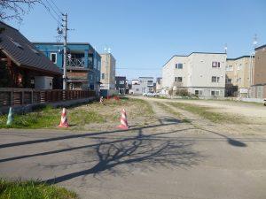 北区屯田、住宅・アパート用地114.55坪